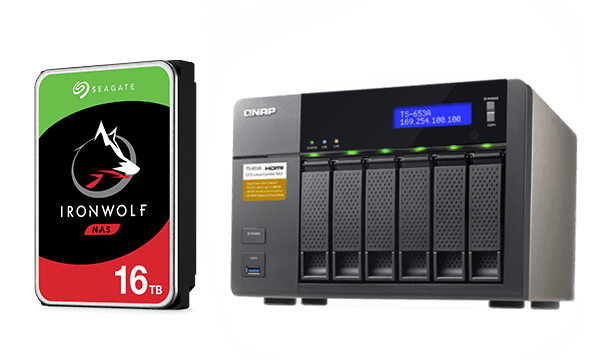 Линейка HDD Seagate IronWolf