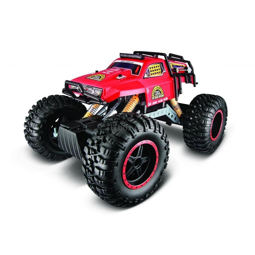 Машинка с радиоуправлением Maisto Rock Crawler 3XL