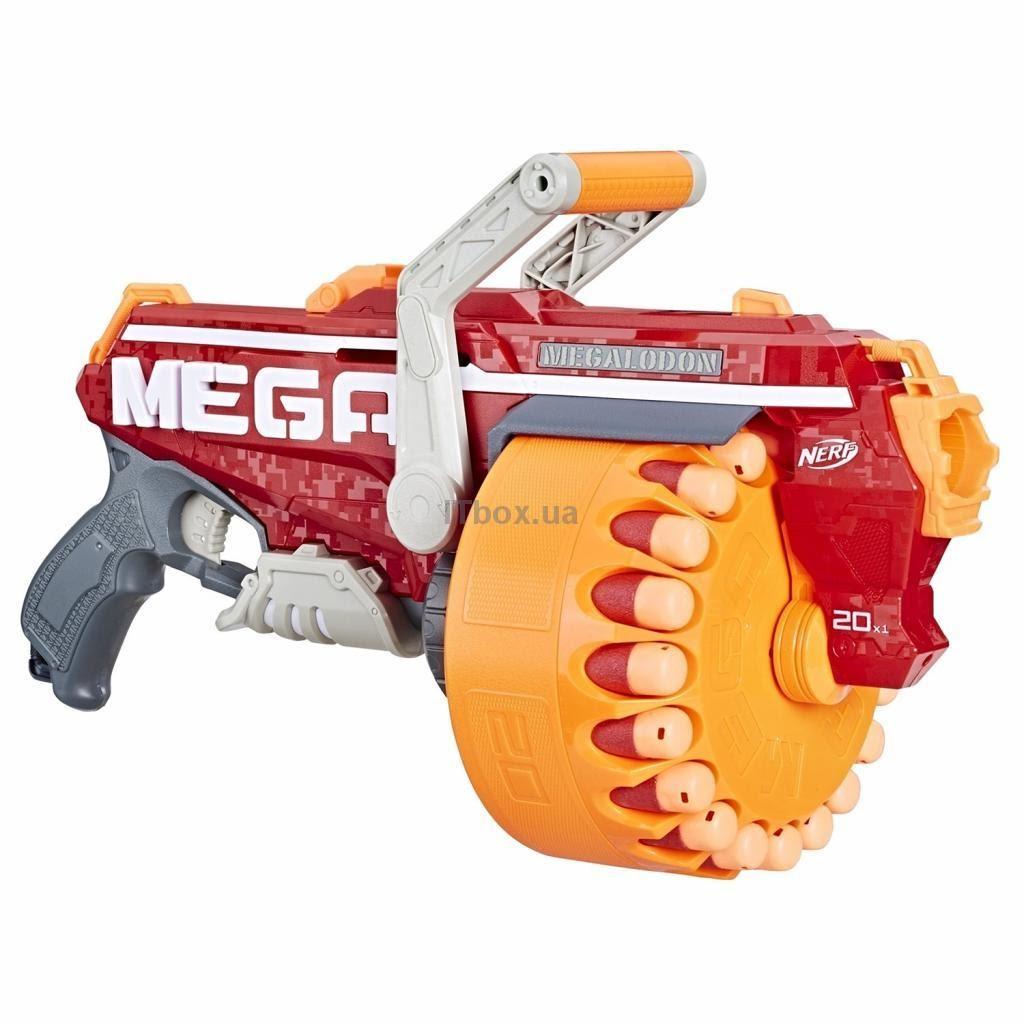 Игрушечное оружие Nerf Mega Megalodon