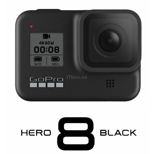 Экшн-камера GoPro Hero 8 Black – снимайте самые безумные выходки