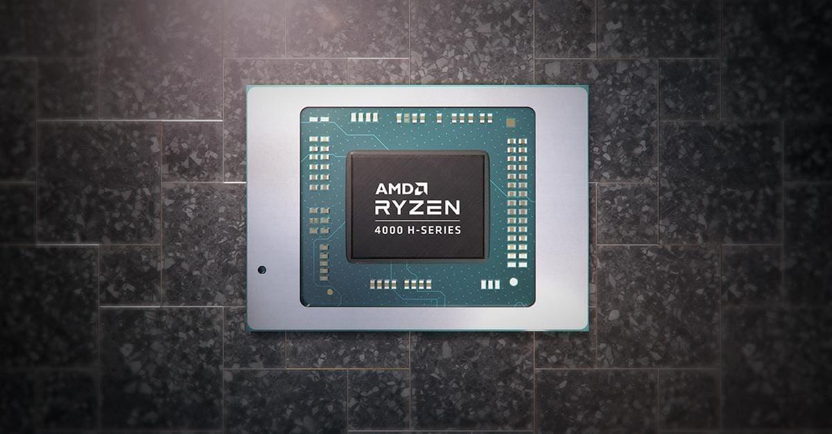 Мобильный процессор AMD Ryzen 4000
