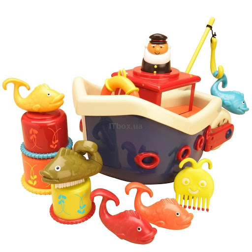 Игрушка для ванной «Ловись, рыбка»