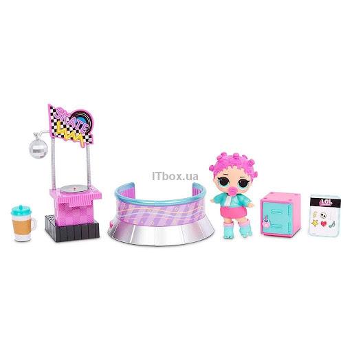 Кукла L.O.L. Surprise! Furniture S2 - Роллердром и Роллер-леди