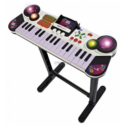 Музыкальная игрушка Simba Клавишные-парта с разъемом для MP-3 плеера