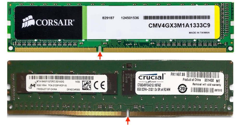 Отличия между ОЗУ DDR4 и DDR3