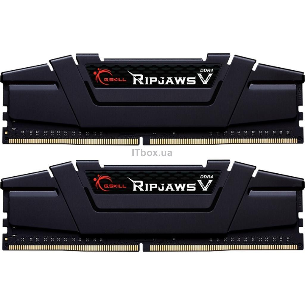 Оперативная память для ПК DDR4 16GB (2x8GB) 4000 MHz Ripjaws V G.Skill (F4-4000C18D-16GVK)