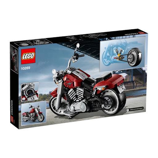 Конструктор LEGO Creator Expert Harley-Davidson Fat Boy
