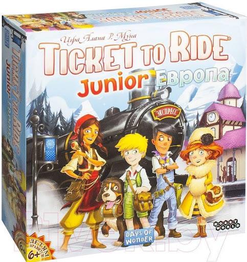 Hobby World Ticket to Ride Junior: Европа