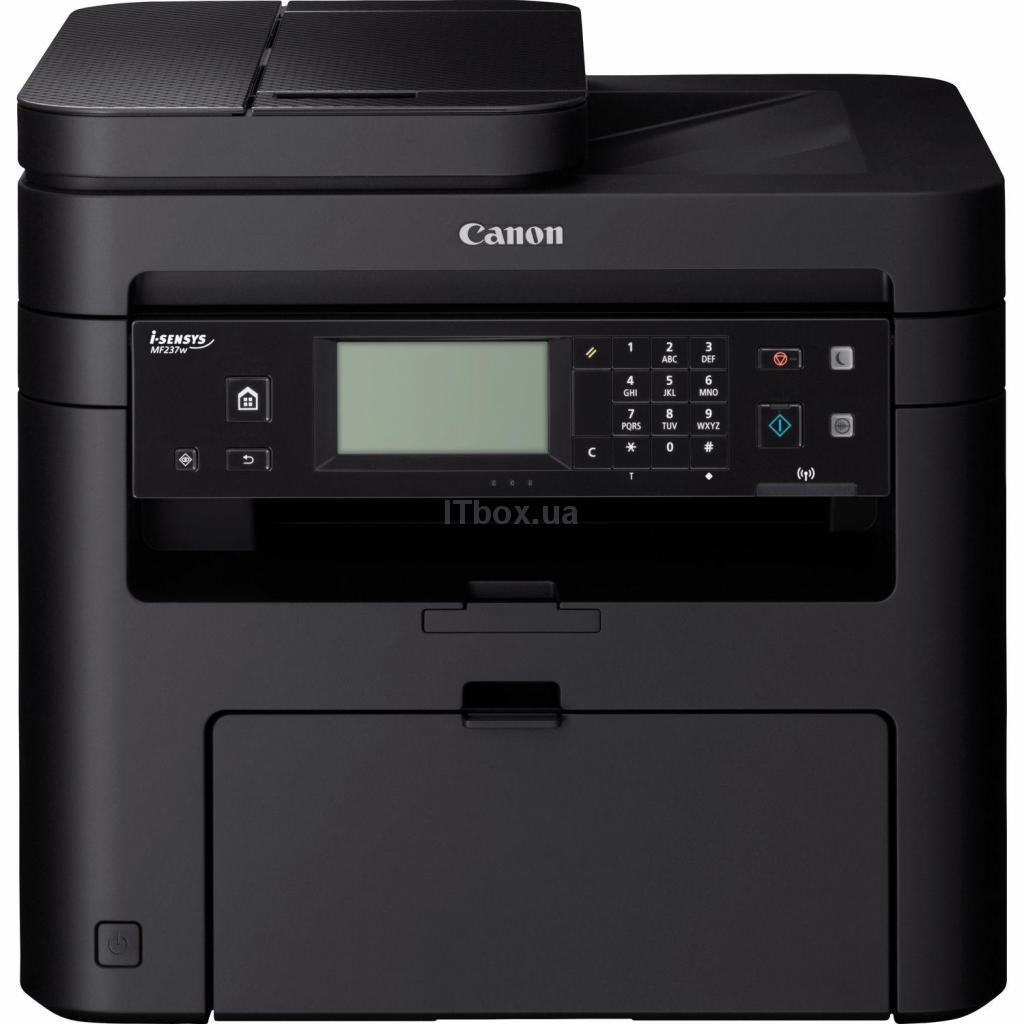 Багатофункціональний пристрій Canon i-SENSYS MF237w c Wi-Fi + 2 картриджа (1418C162)