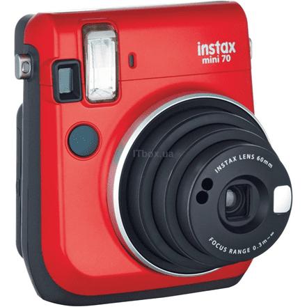 Камера миттєвого друку Fujifilm Instax Mini 70 Passion Red