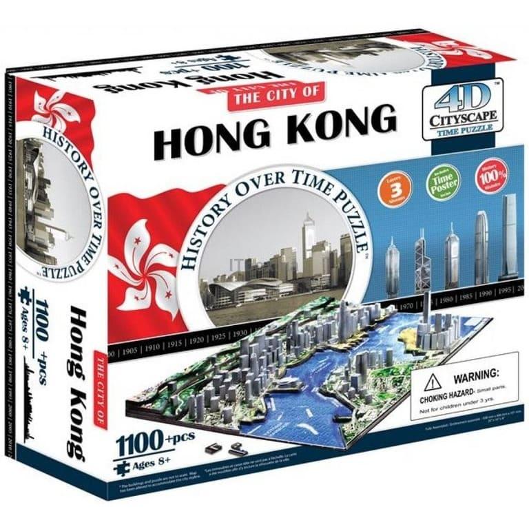 Пазл 4D Citysсape Гонконг Китай