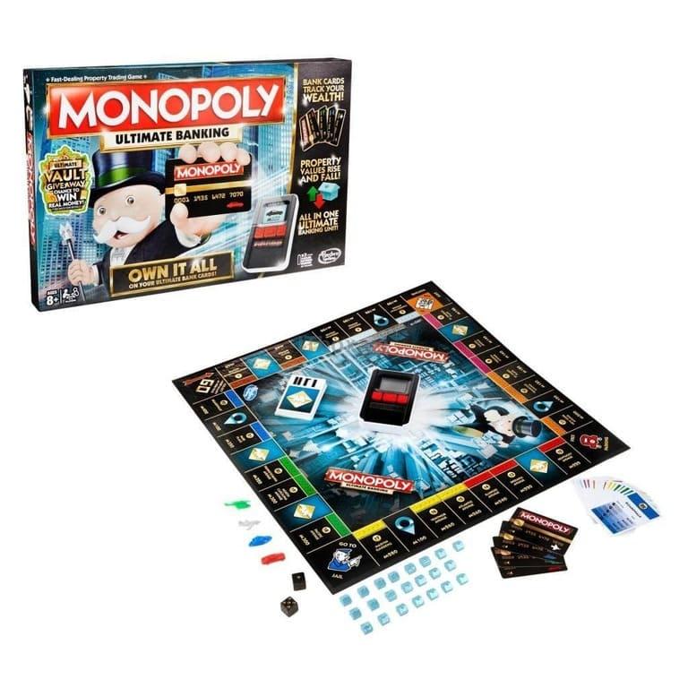 Настільна гра Hasbro Монополія з банківськими картками