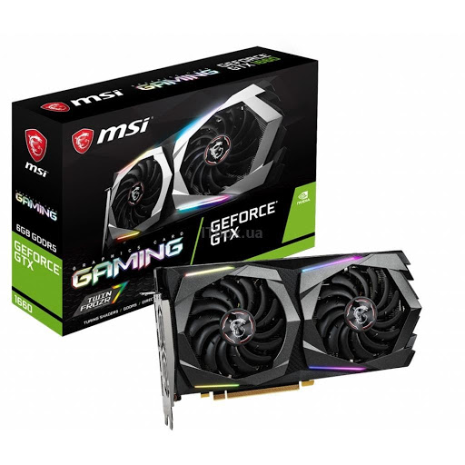 MSI GeForce GTX1660 6144Mb GAMING