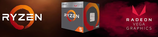 Процесори Ryzen з графікою VEGA