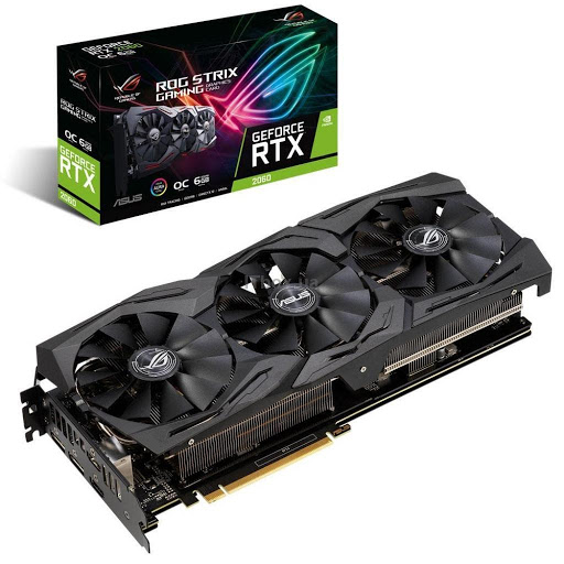 ASUS GeForce RTX2060 6144Mb ROG STRIX OC GAMING