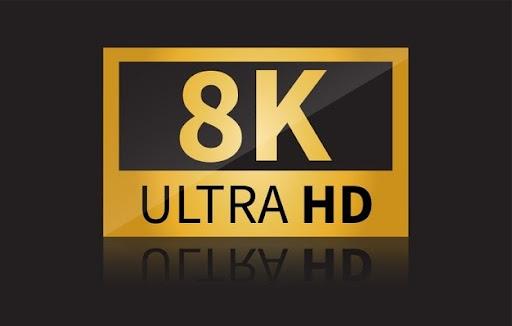 трансляції потокового відео в 8K