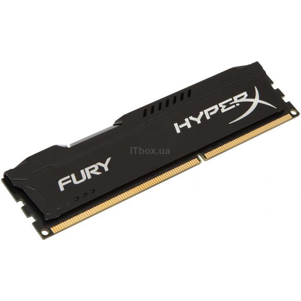 Оперативна пам'ять для ПК DDR3 4GB 1866 MHz LoFury Black HyperX (Kingston Fury) (HX318LC11FB/4)