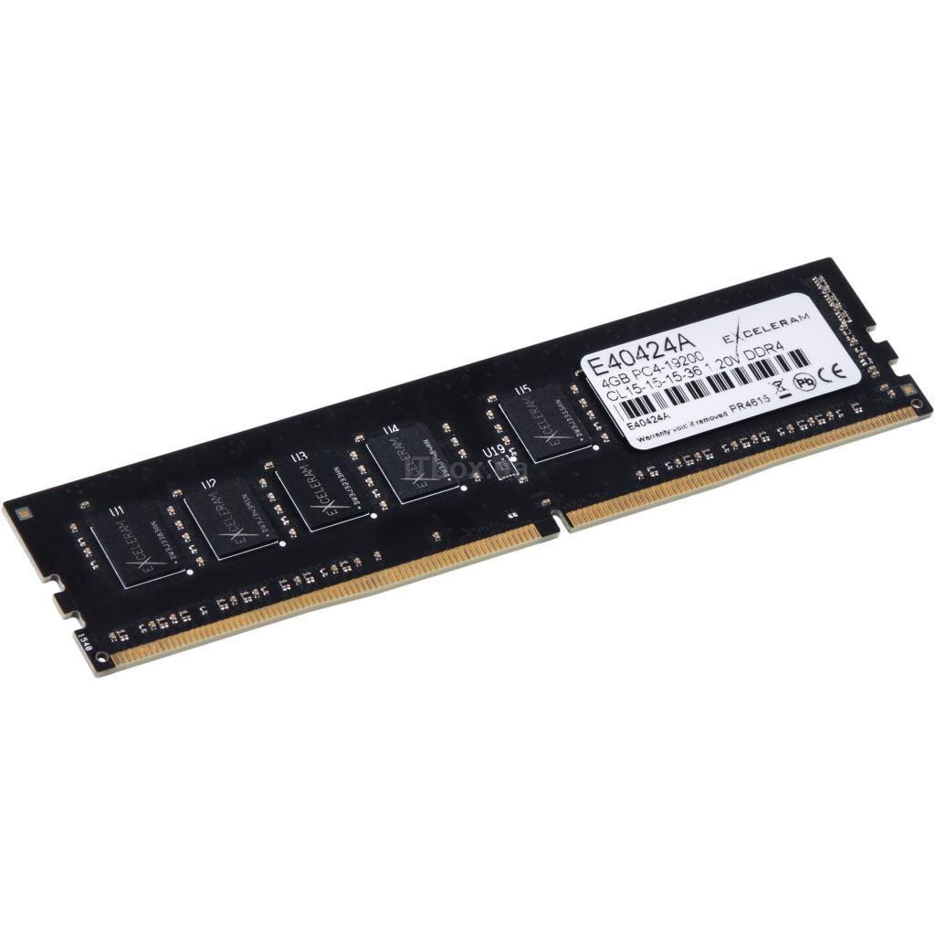 Оперативна пам'ять для ПК DDR4 4GB 2400 MHz eXceleram (E40424A)