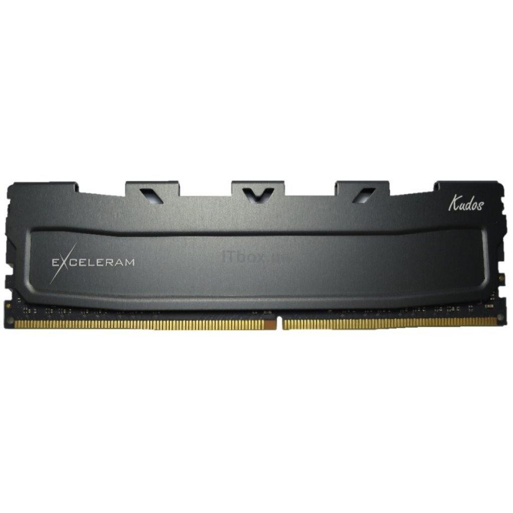 Оперативна пам'ять для ПК DDR4 8GB 2400 MHz Black Kudos eXceleram (EKBLACK4082414A)
