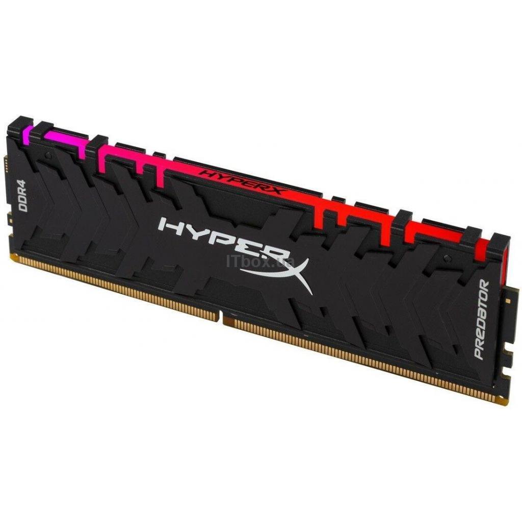 Оперативна пам'ять для ПК DDR4 8GB 3000 MHz HyperX Predator RGB HyperX (Kingston Fury) (HX430C15PB3A/8)