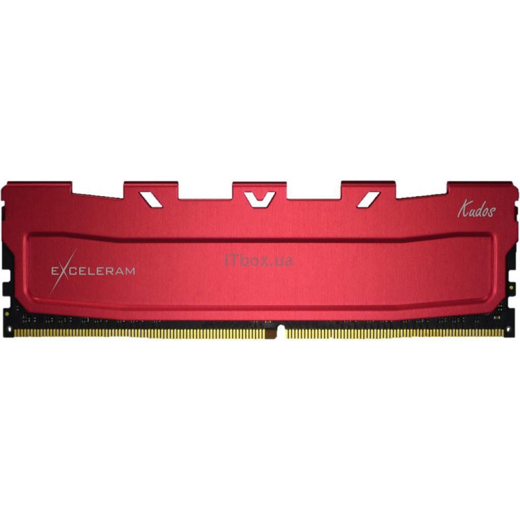 Оперативна пам'ять для ПК DDR4 16GB 3600 MHz Red Kudos eXceleram (EKRED4163618C)
