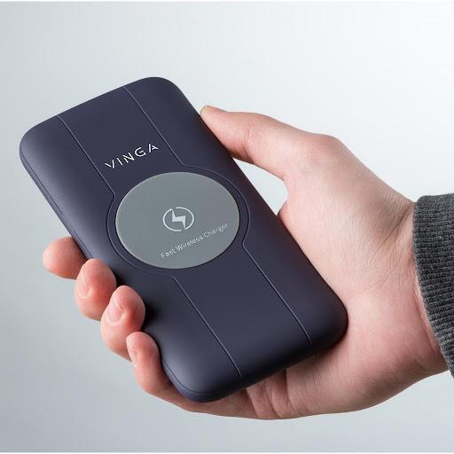 Повербанк Vinga 10000 mAh Wireless QC3.0 PD